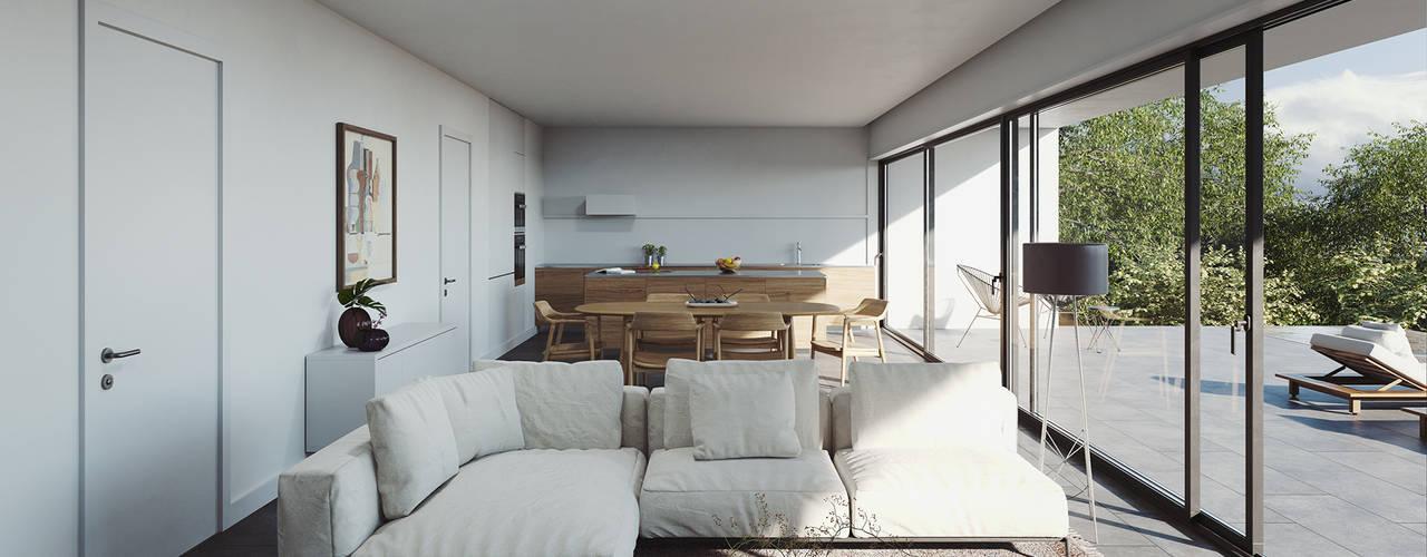 FMO ARCHITECTURE Living room White