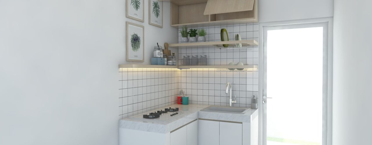 Minimalist kitchen by viku Minimalist