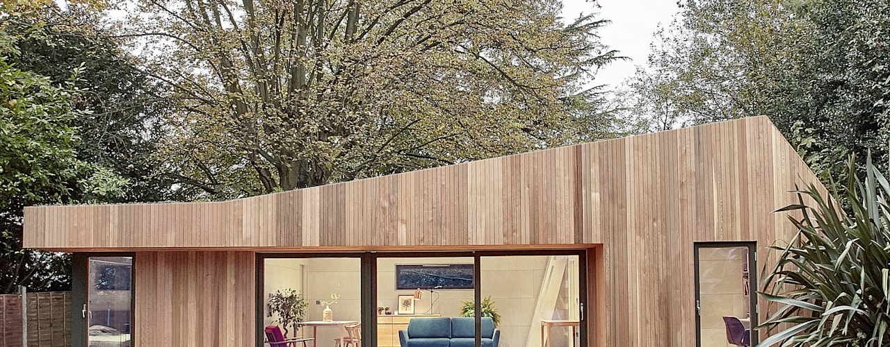 Casa prefabbricata in legno di Ecospace Italia srl Moderno