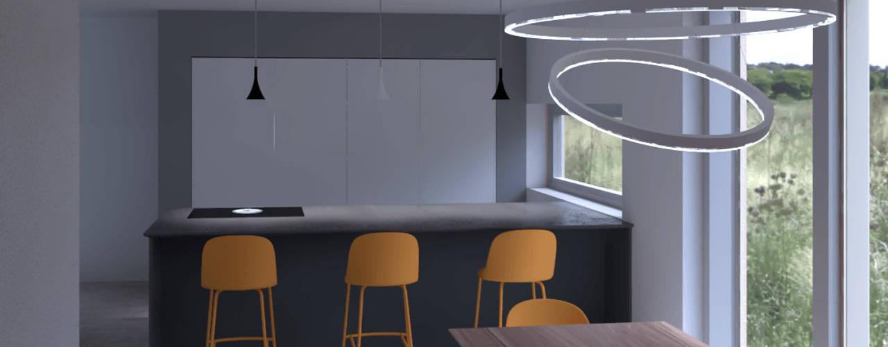 Cucina e Living a Ravenna : Cucina in stile  di G&S INTERIOR DESIGN