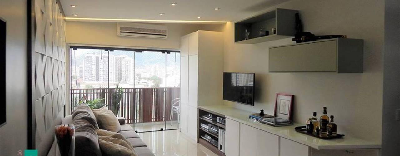 Izabella Biancardine Interiores Moderne Wohnzimmer