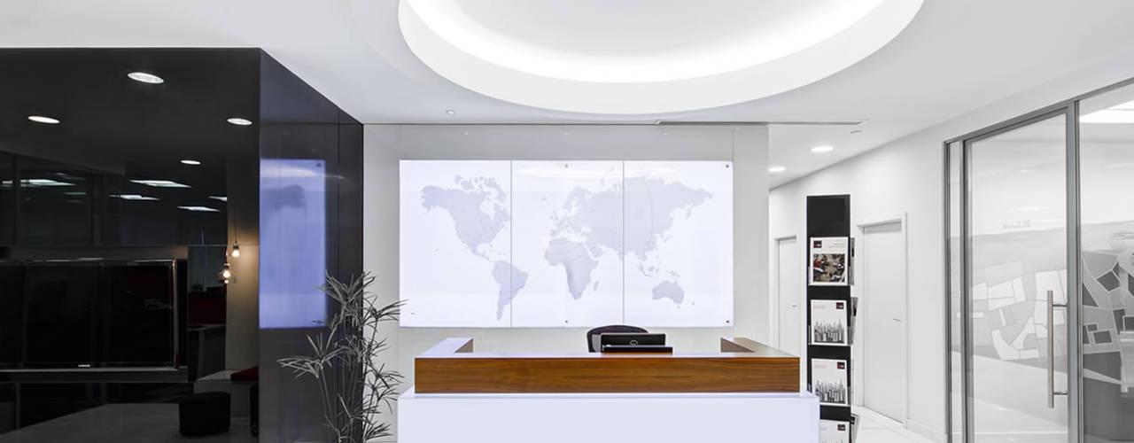 kantoor verwarming: modern  door Heat Art - infrarood verwarming, Modern
