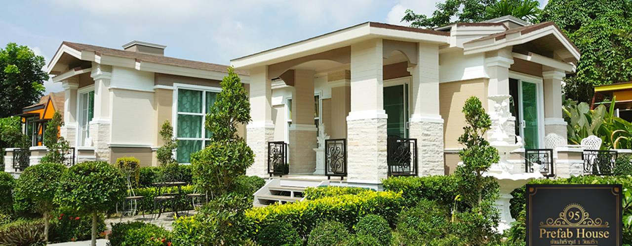 บ้านสำเร็จรูปรุ่น Grand Italy 95 โดย บริษัท น็อคดาวน์ เซ็นเตอร์ จำกัด