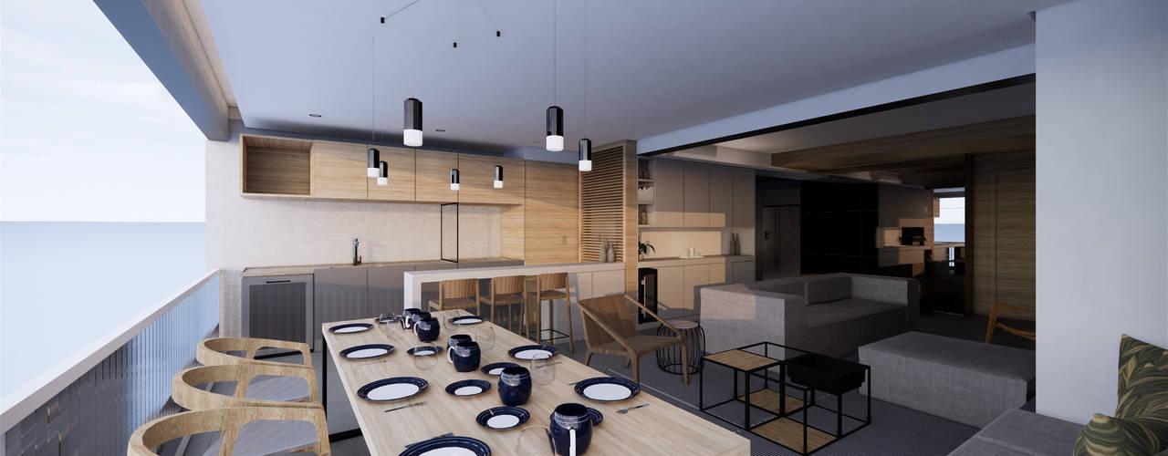 Apartamento 254 por Saulo Magno Arquiteto Minimalista