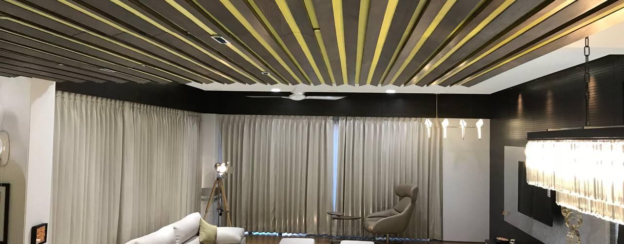 Interiors:  Living room by Obaku Design,