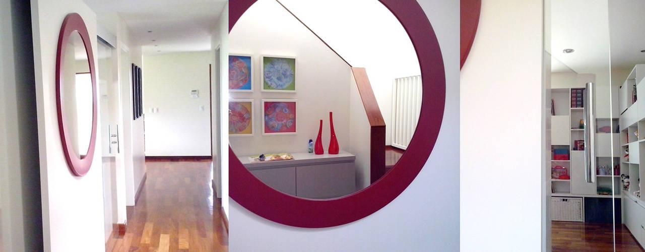 Fabiana Ordoqui  Arquitectura y Diseño.   Rosario | Funes |Roldán의  복도 & 현관