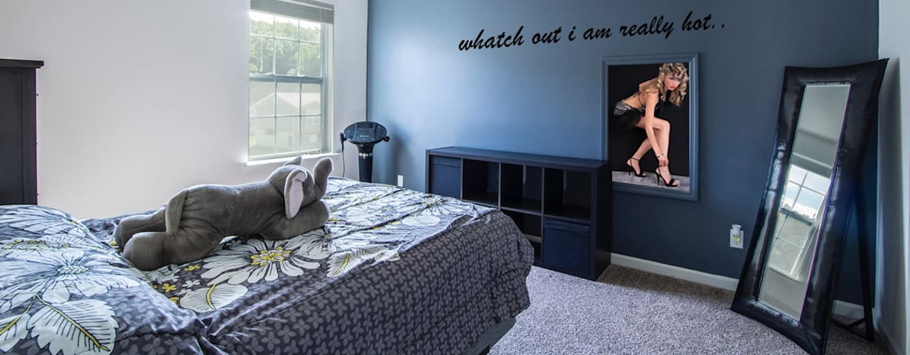 slaapkamer verwarming van Heat Art - infrarood verwarming Rustiek & Brocante