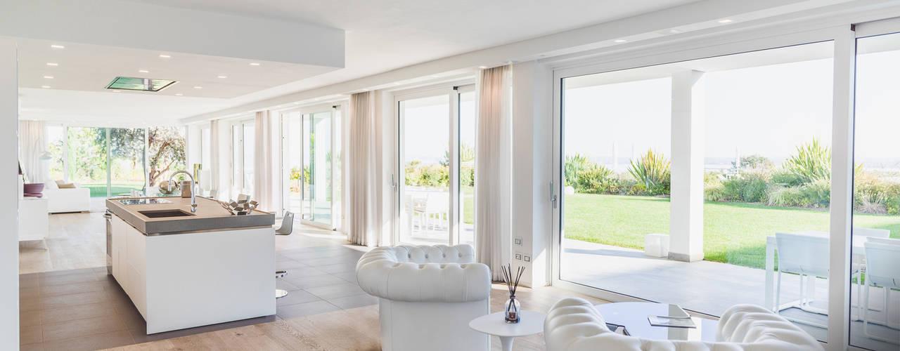 Sicurezza Vetrate Ercole Srl Finestre & Porte in stile minimalista Vetro Trasparente