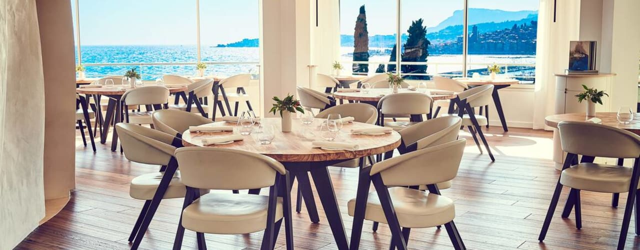 Designer and high-end furniture for prestigious restaurants por Imagine Outlet Moderno