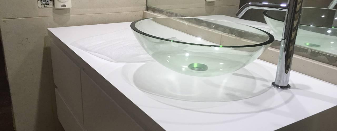 Móveis WC por SweetYellow Minimalista