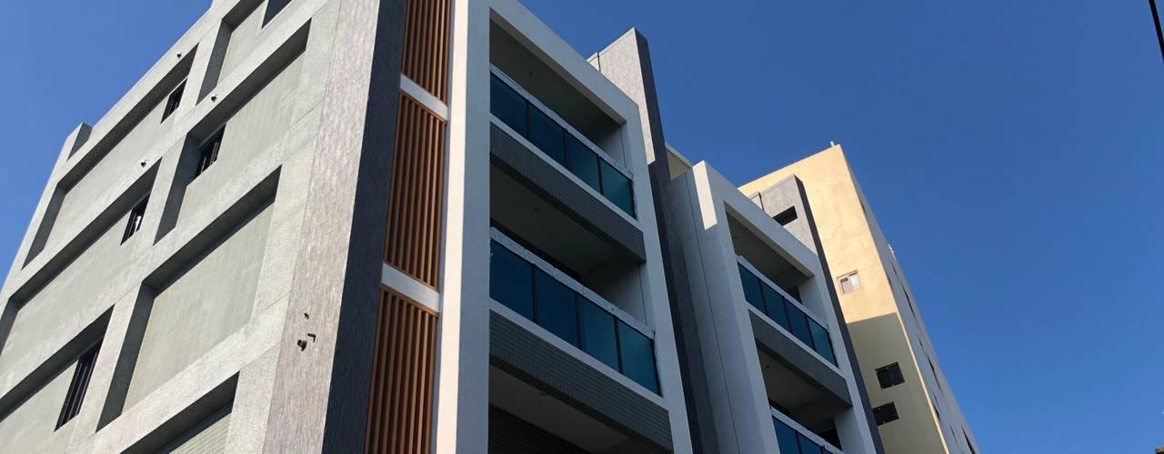 台中烏日區五層電梯別墅 - 雙葉莊 根據 讚基營造有限公司 日式風、東方風