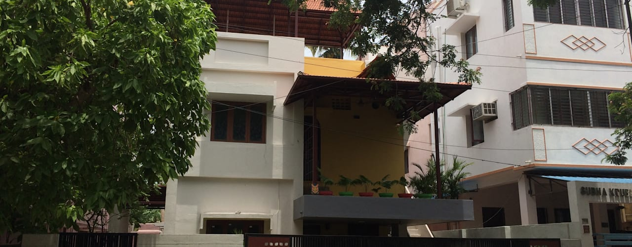 Mrs. Rajalakshmi Ramakrishnan residence by The Yellow Ink Studio Classic