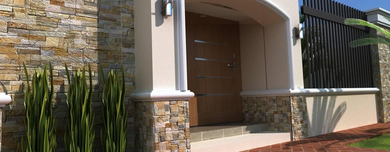 Casas modernas: Ideas, diseños y decoración de OLLIN ARQUITECTURA Moderno