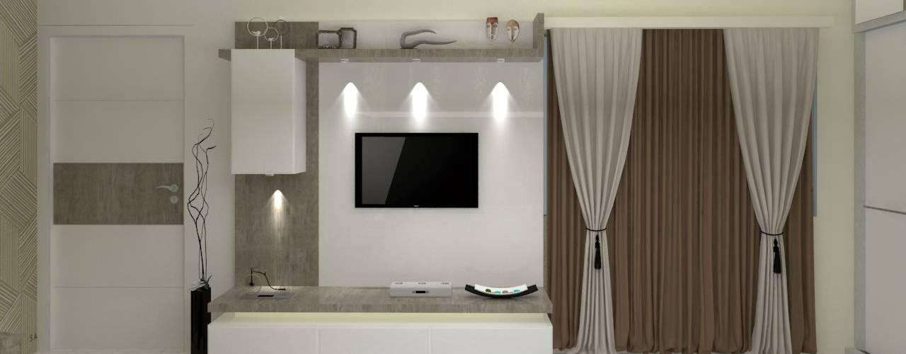 Jamali interiors:  Bedroom by Jamali interiors,