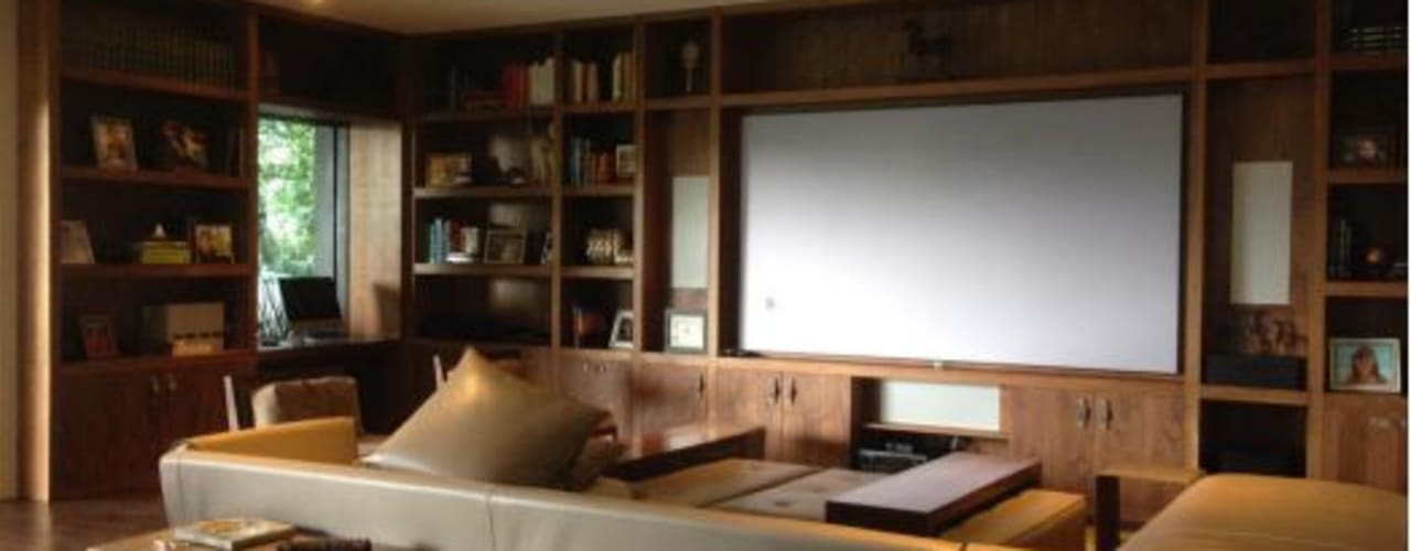 RESIDENCIAL | CASA UNIFAMILIAR 213 BOSQUES DE SANTA FE Salones modernos de Tk arquitectura Moderno