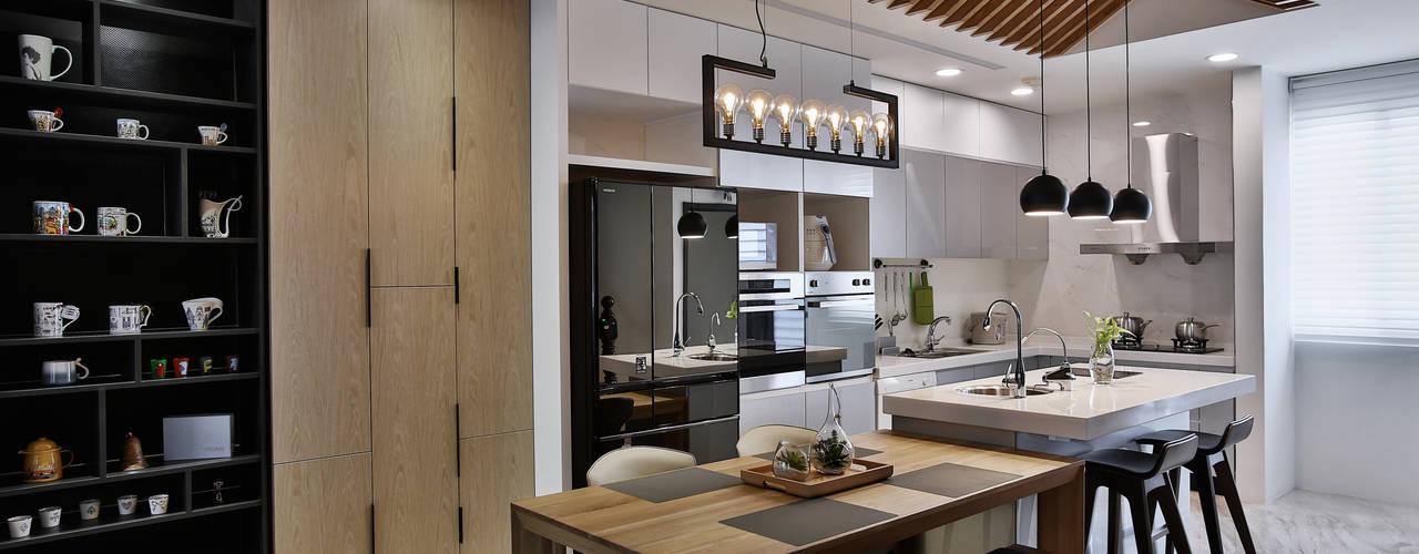 Kitchen by 安提阿設計有限公司, Modern