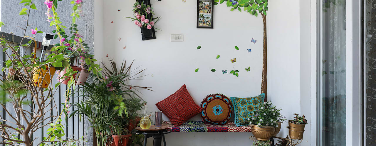 Raja Akkinapalli Images Mái hiên Đá hoa Multicolored