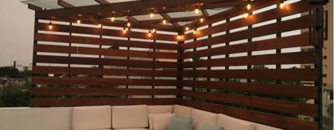 Terraza Balcones y terrazas modernos de EBA Architecture & Desing Moderno
