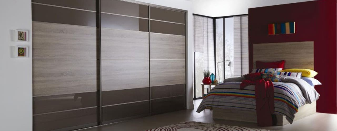 Sliding Door Wardrobes de Metro Wardrobes London Moderno