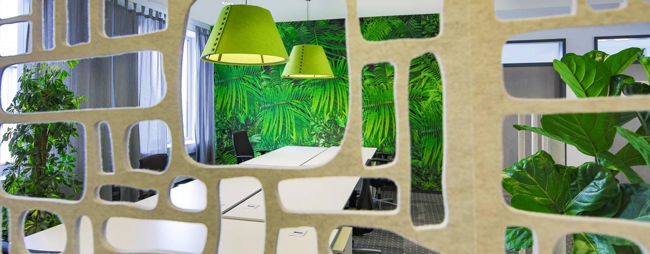 Das kleine Make-over mit dem großen Effekt Ausgefallene Bürogebäude von Kaldma Interiors - Interior Design aus Karlsruhe Ausgefallen