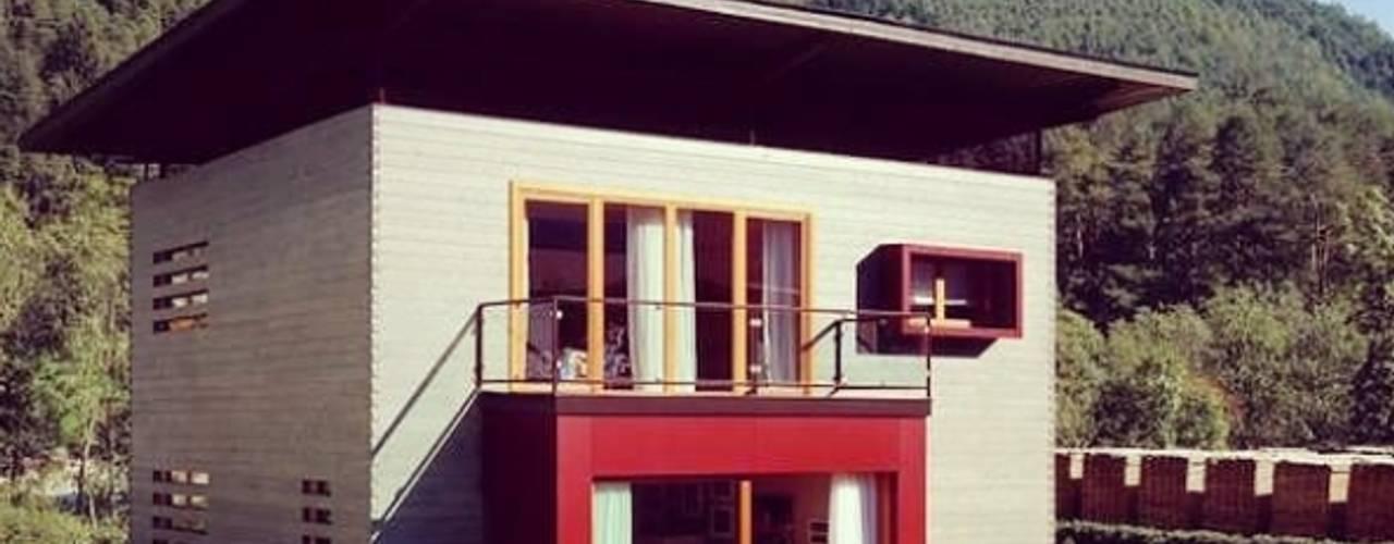 Casas prefabricadas de estilo  por Ing. Massimiliano Lusetti