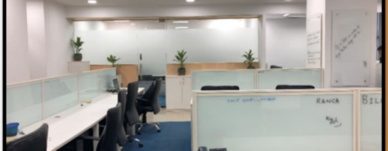 Station 171:  Offices & stores by Ecoinch Services Private Limited,Modern