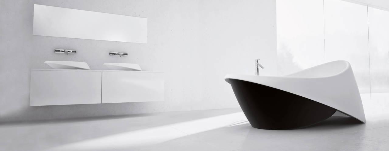 Black & White Badewanne Waschtisch:  Messe Design von ZICCO GmbH - Waschbecken und Badewannen in Blankenfelde-Mahlow,