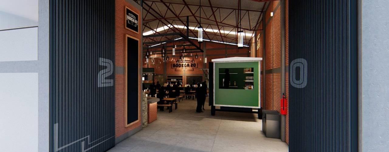 Cúster Gastronómico - Bodega 20 Comedores modernos de Arquitectura AD Moderno