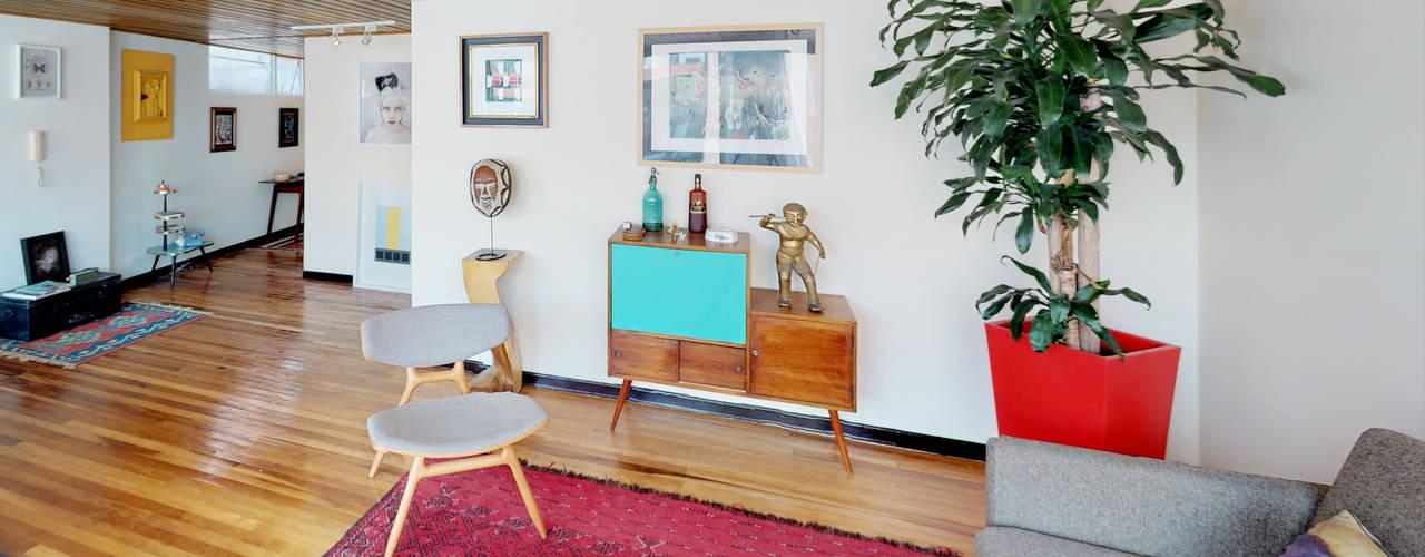 Столовая комната в эклектичном стиле от De Stefano Disegno Эклектичный
