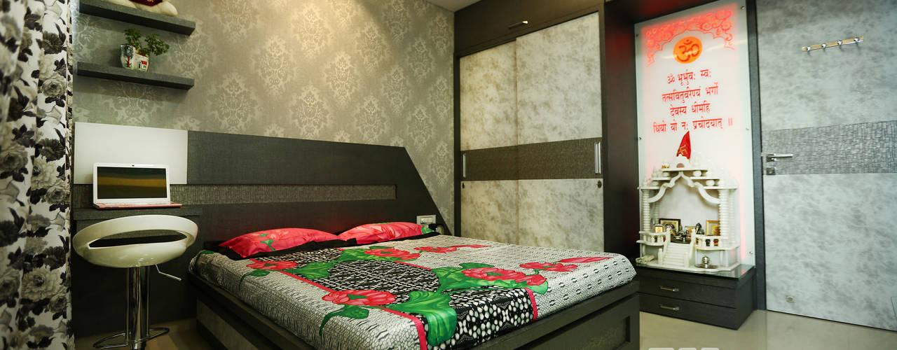 Sunita Agarwala - 2BHK @ Mumbai :  Small bedroom by Wow Homz,