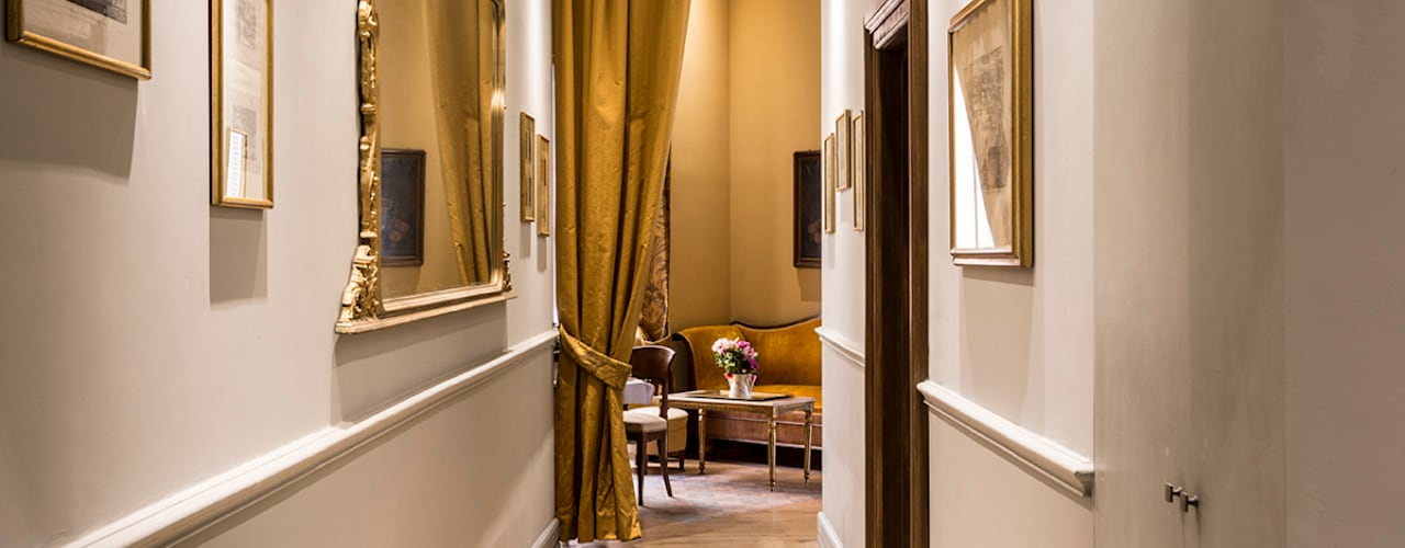 Interior Design in Rome Classic hotels by ARTE DELL' ABITARE Classic