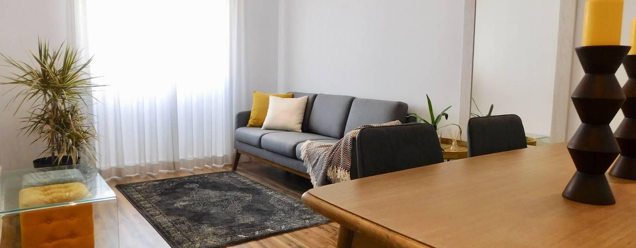 Projecto destinado a Alojamento Local por Cristina Oliveira - Consulting & Interior Design Escandinavo