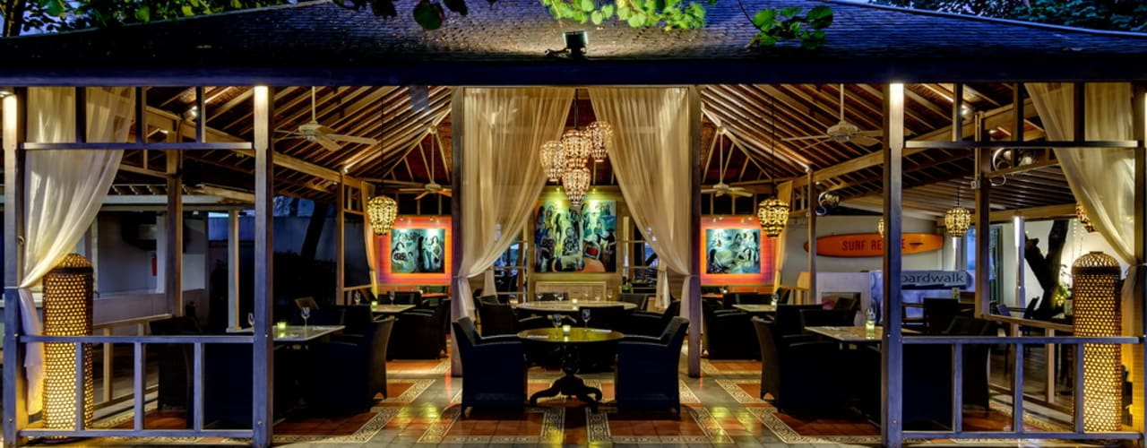 comprar en bali Tropische Bars & Clubs Massivholz Holznachbildung