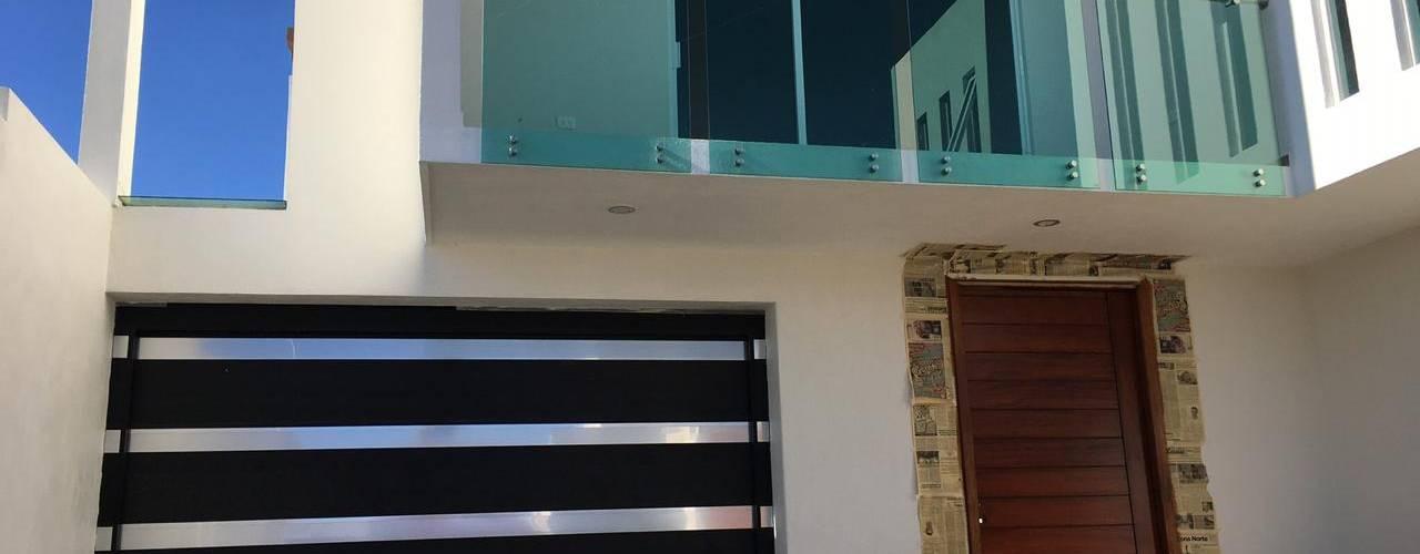 CASA MINIMALISTA: Casas de estilo  por BR Construcciones,