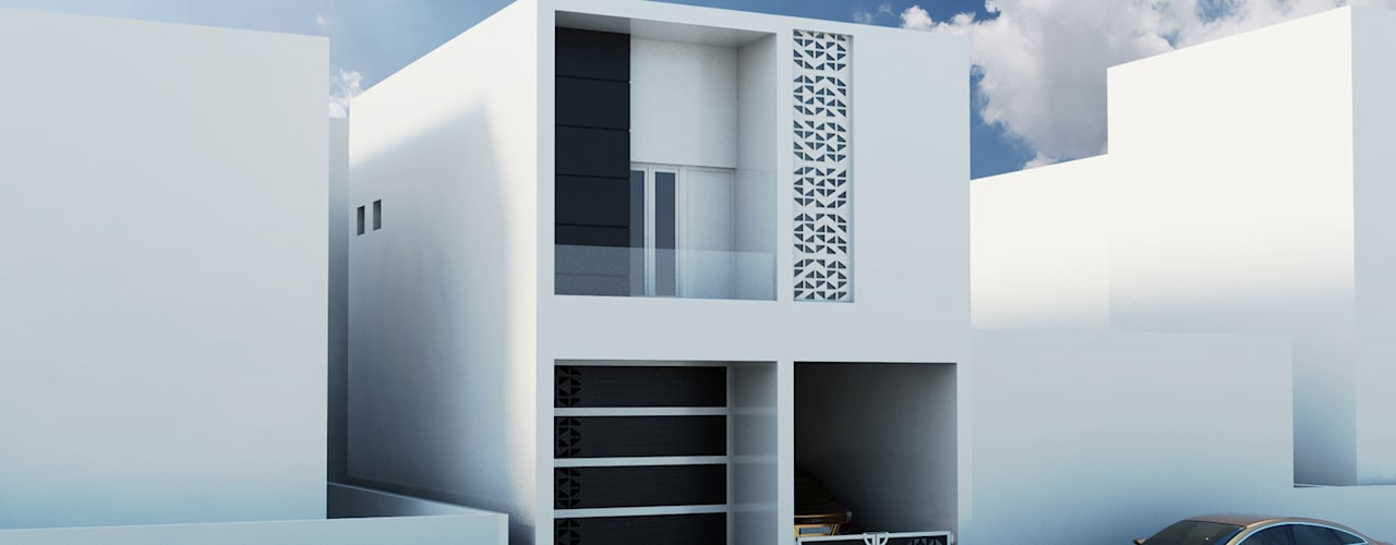 RESIDENCE IN CHENNAI:  Villas by D Domain Architects,