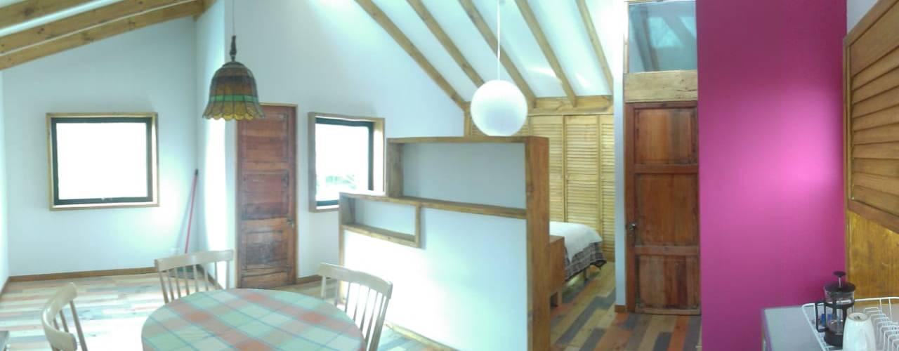 AMPLIACION CASA LA REINA Dormitorios de estilo minimalista de BE ARQUITECTOS Minimalista