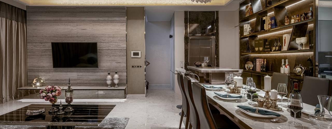 Victoria Park Villas Modern living room by Summerhaus D'zign Modern