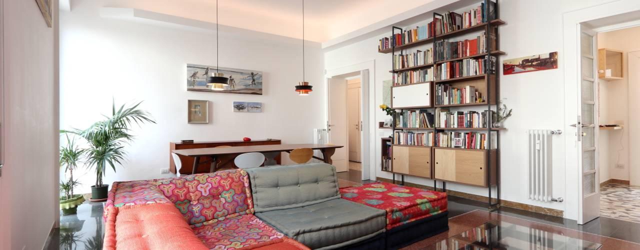 Casa I&B: Soggiorno in stile  di Daniele Arcomano,
