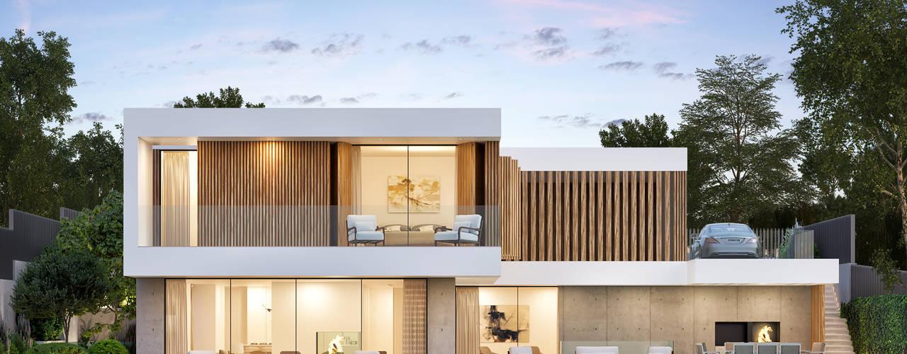 CASA PT1- Moradia no Belas Clube de Campo - Projeto de Arquitetura por Traçado Regulador. Lda Moderno