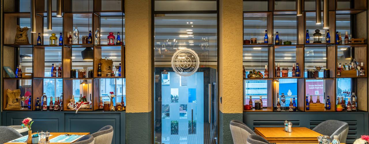 Yedikule Mimarlık – Ümran Mantı&Cafe Cephe ve İç Mimari Tasarımı:  tarz Yeme & İçme,