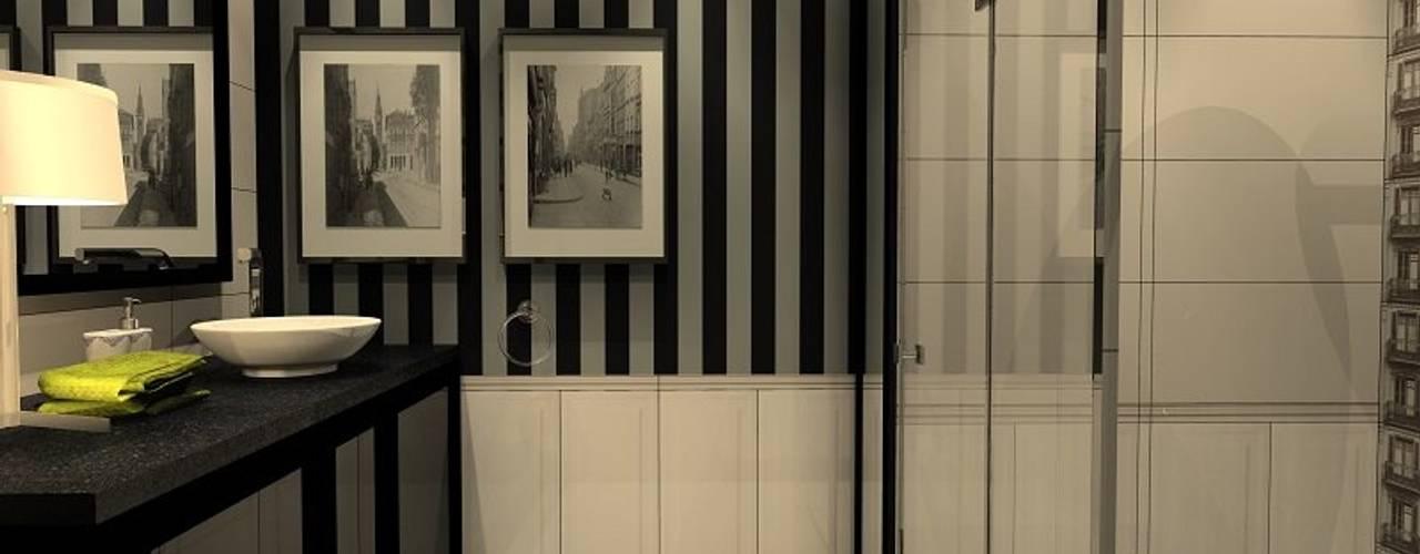 Wizualizacje łazienek od Lux Interiors - projektowanie i aranżacja wnętrz Gdańsk, Gdynia, Sopot