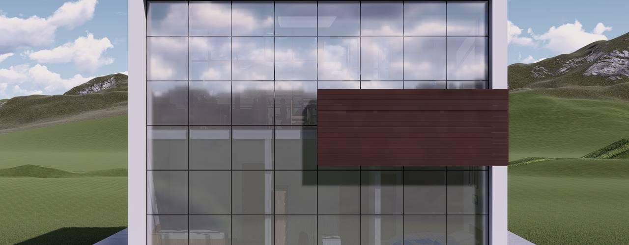 La casa 10 de Arq. Bruno Agüero Moderno