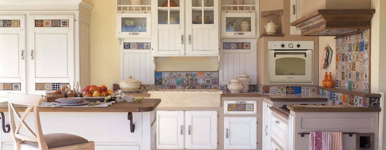 cucine in muratura stile shabby
