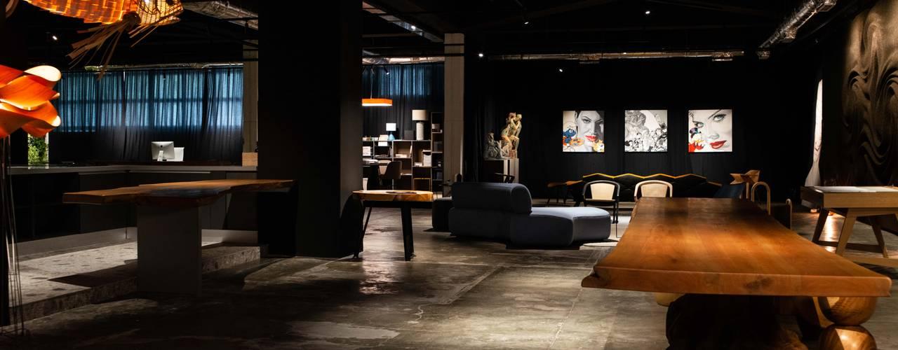 COLETIVO 284: Espaços comerciais  por Adriana Scartaris: Design e Interiores em São Paulo,Industrial