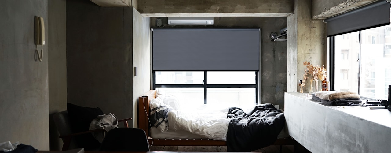 除了美感外,還多了一份機能的夢想家居|Motorized 電動窗簾.窗簾推薦: 斯堪的納維亞  by MSBT 幔室布緹, 北歐風
