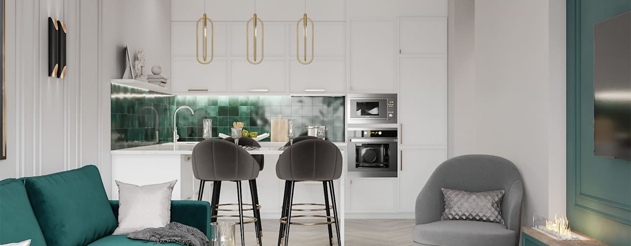 Built-in kitchens by PANAMERA, Modern