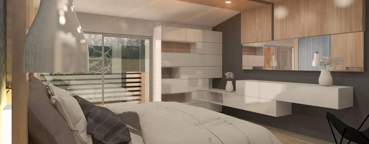 DISEÑO HABITACIONAL Dormitorios modernos de SKETCH ARQUITECTOS Moderno