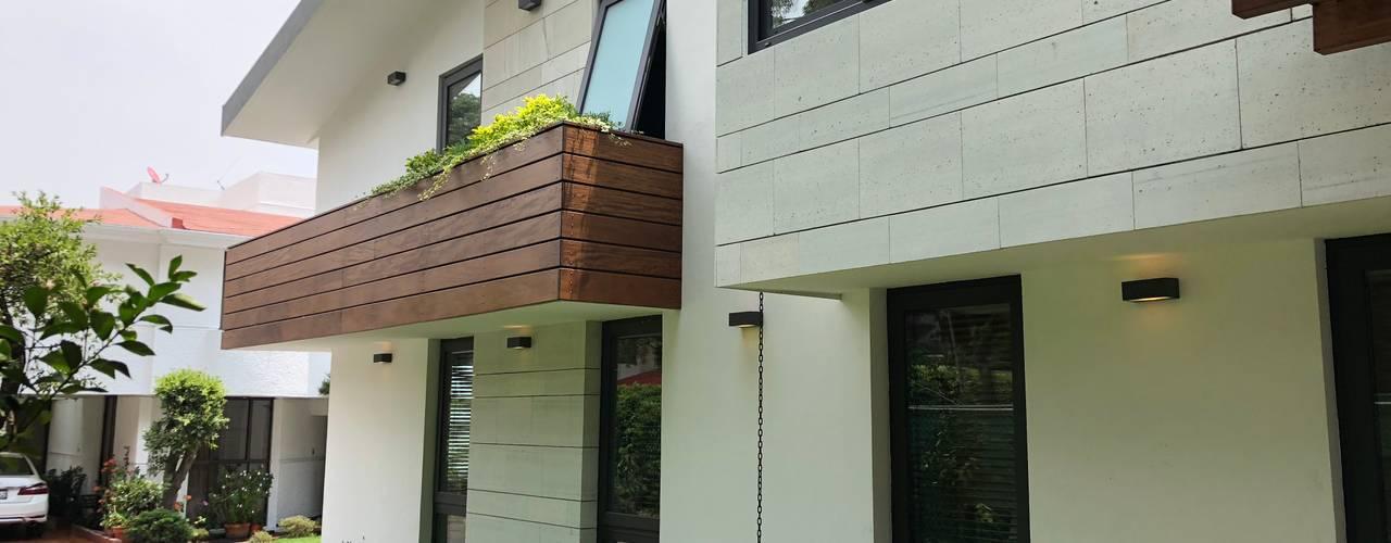 CASA PDS/C9 Casas modernas de DE LEON PRO Moderno