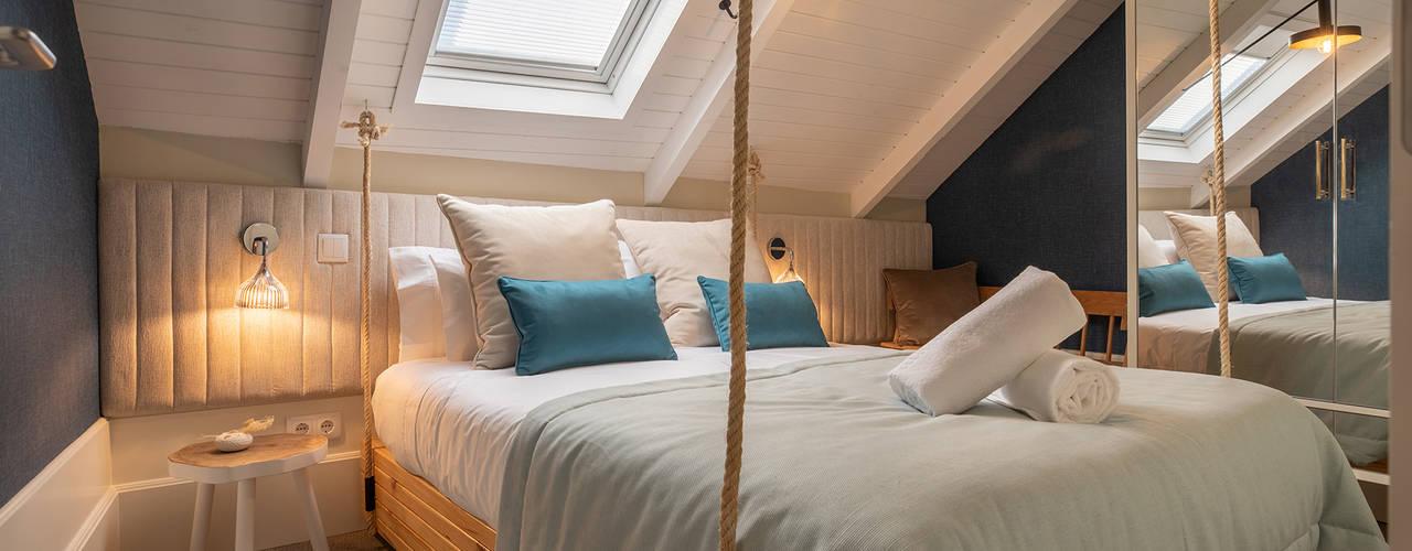 Harbour Inn, Guest House - Projeto SHI Studio Interior Design por ShiStudio Interior Design Moderno