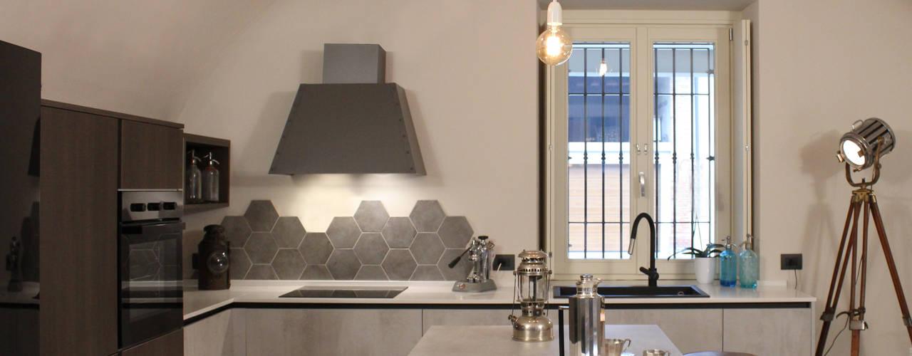 Bristol – Cucina Cucina in stile industriale di viemme61 Industrial